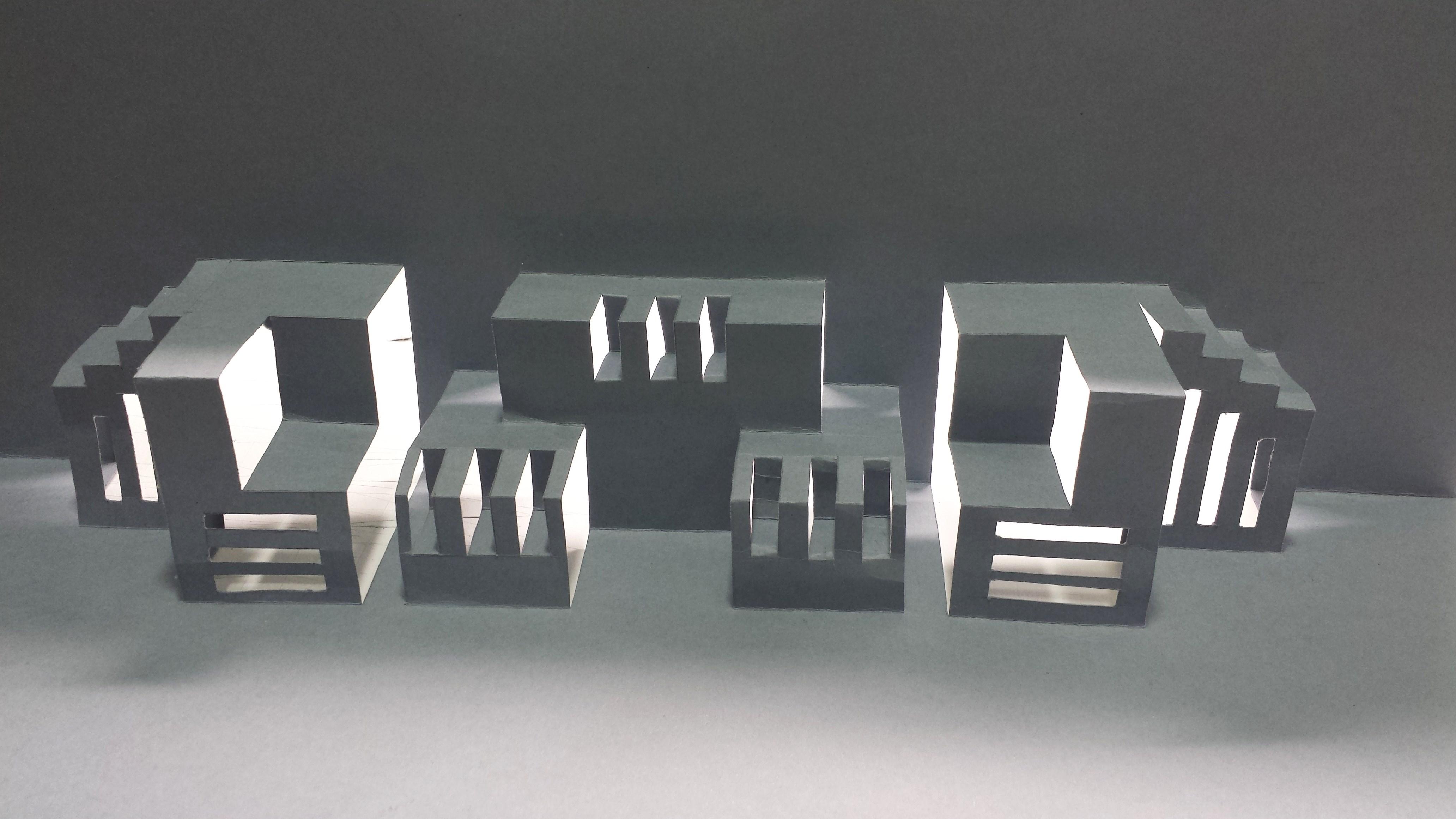 Escuela Superior de Diseño de Aragón · Proyecto Kirigami