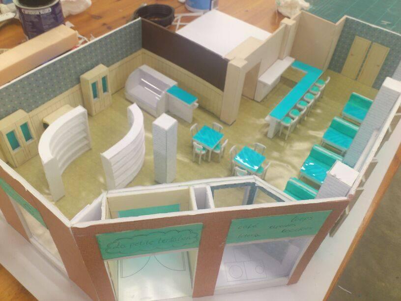 Escuela superior de dise o de arag n proyecto maqueta for Quiero estudiar diseno de interiores