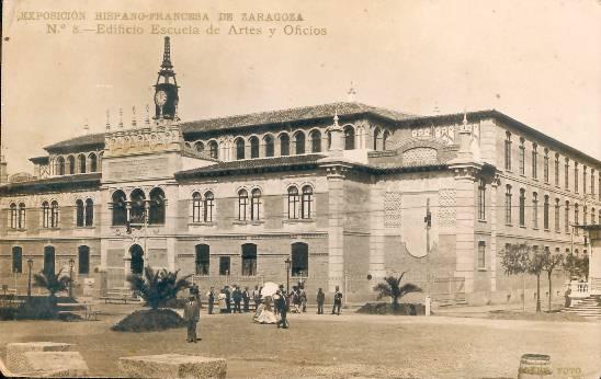Resultado de imagen de Escuela de Artes Zaragoza
