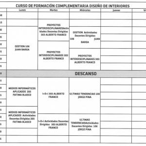Escuela superior de dise o de arag n cursos de verano 2015 - Cursos diseno de interiores online ...